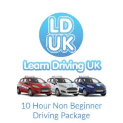 10 Hour Non Beginner Driving Package
