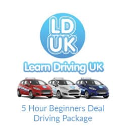 5 Hour Beginners Deal Driving Package