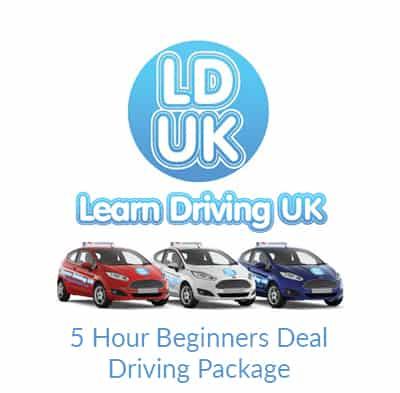 5 Hour Beginners Deal Driving Package